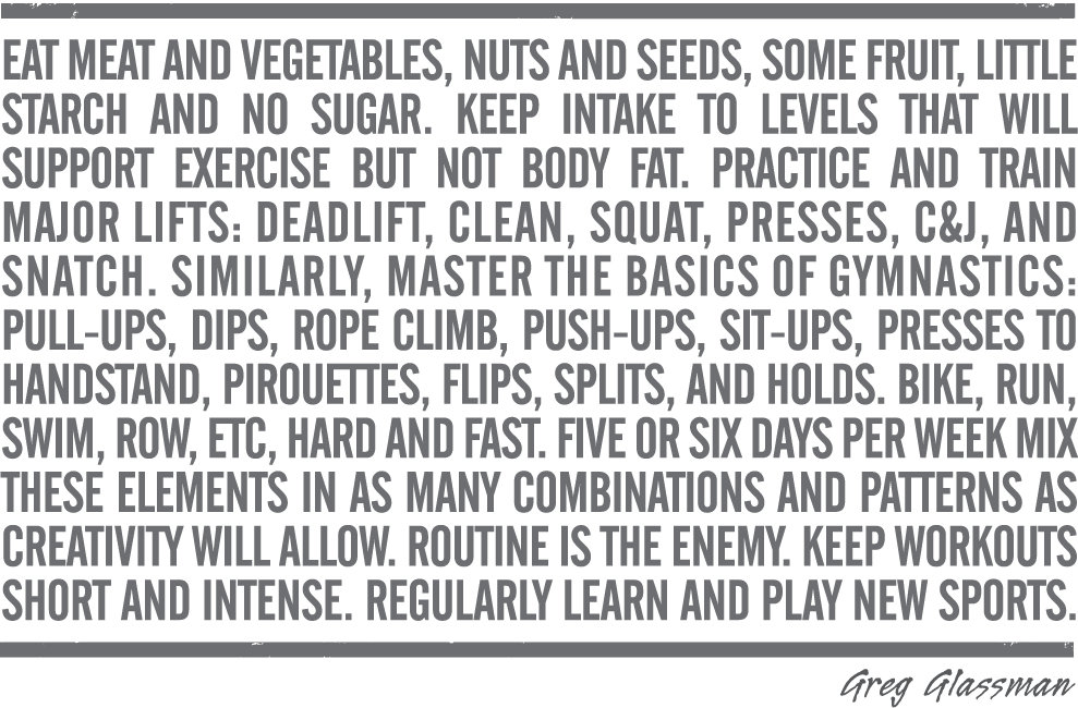 100 Words of Fitness